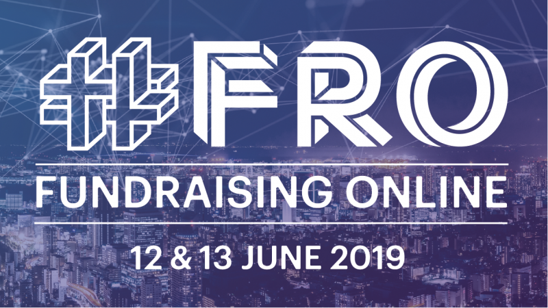 Fundraising Online #FRO 2019