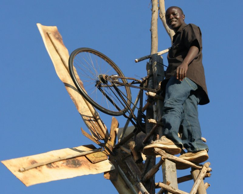 William Kamkwamba - The Boy Who Harnessed The Wind