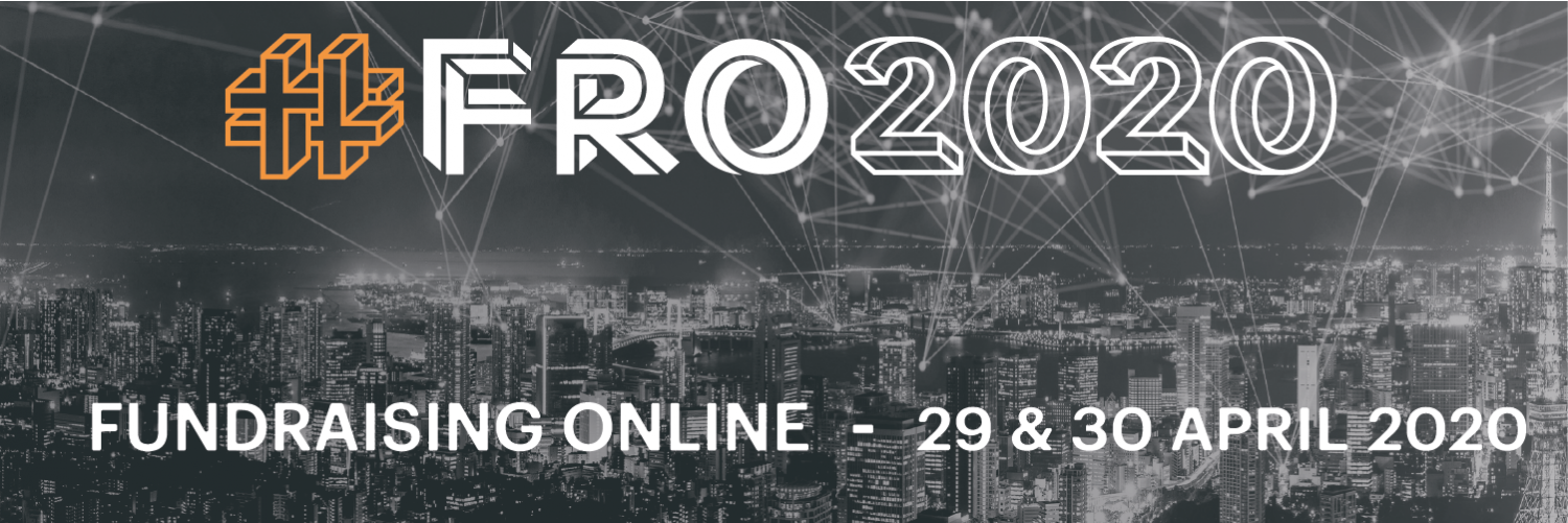 #FRO2020 Fundraising Online