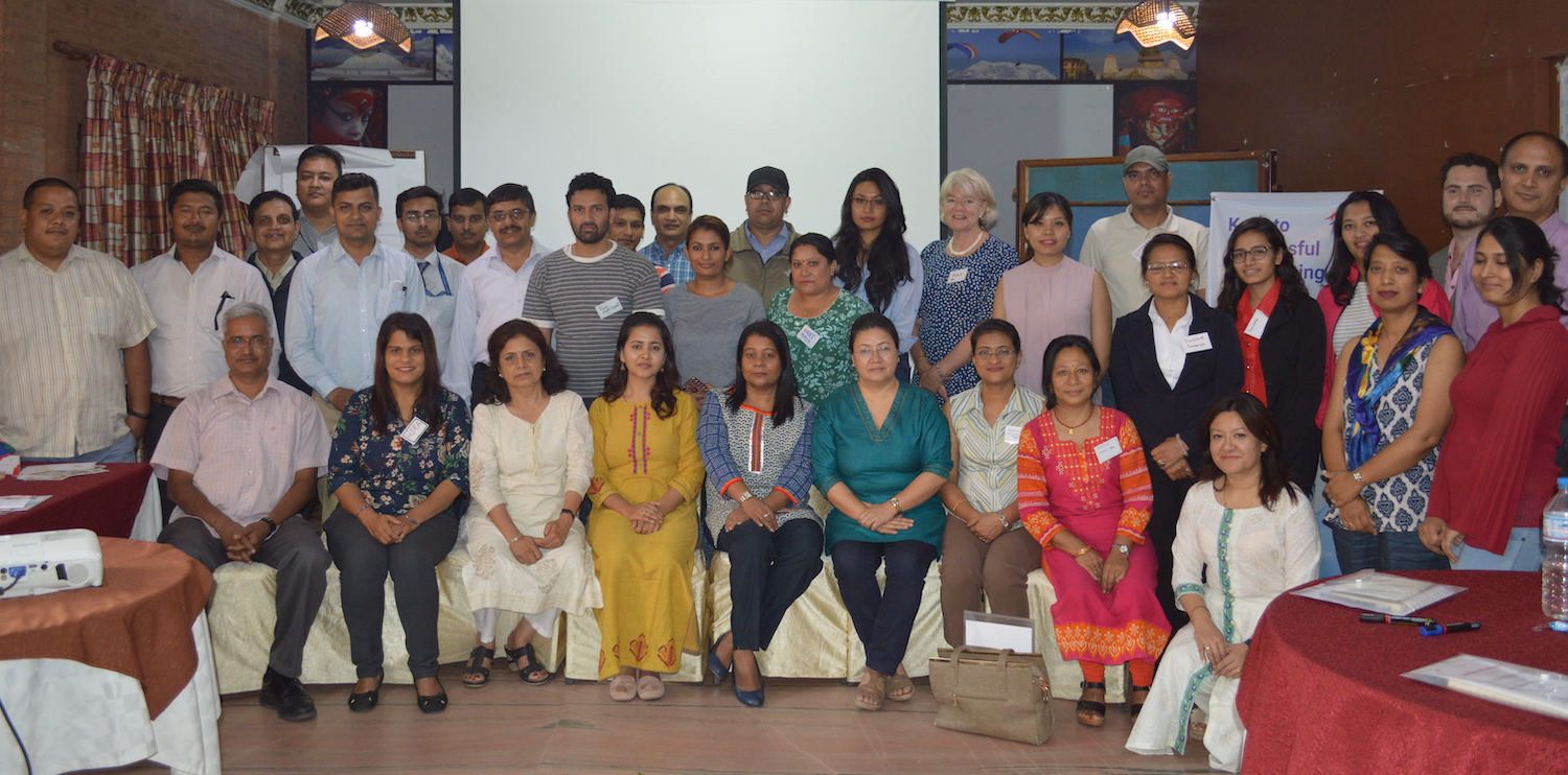 Fundraising Training organized by Rewati and his organization NCPD